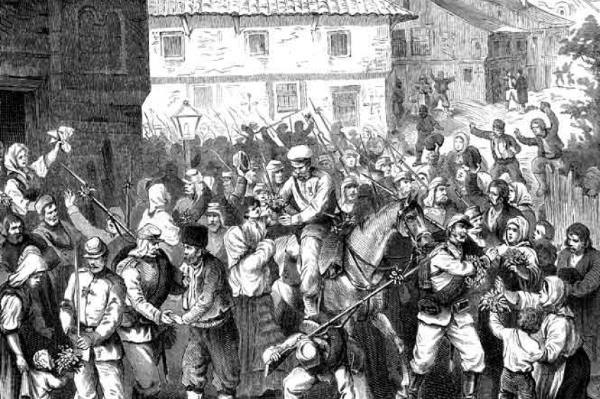 Резултат с изображение за Татарбунарско въстание