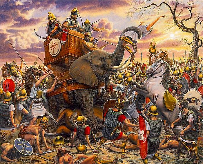 Резултат с изображение за Вандалите, водени от крал Гейзерик, превземат Картаген